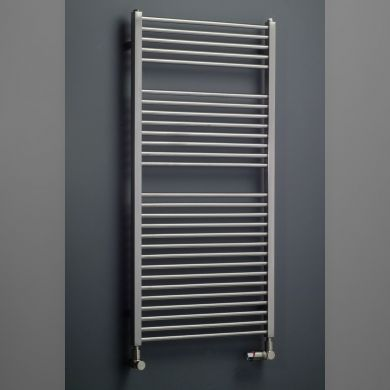 Eucotherm Apollo Vertical Stainless Steel Towel Radiator - 753x500mm