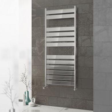 Eucotherm Primus Vito Chrome  Towel Radiator - 800x500mm
