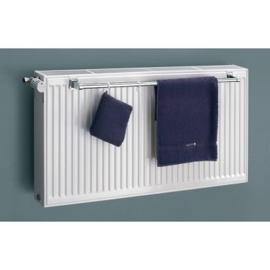 Eucotherm 600mm Towel Rail for Double Panel Radiator