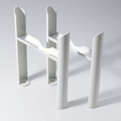 Kartell 2 column Insertable Feet - White