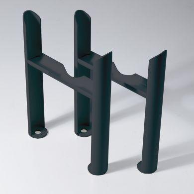 Kartell 3 column Insertable Feet - Anthracite