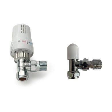 Kartell Style Angled Thermostatic Valves