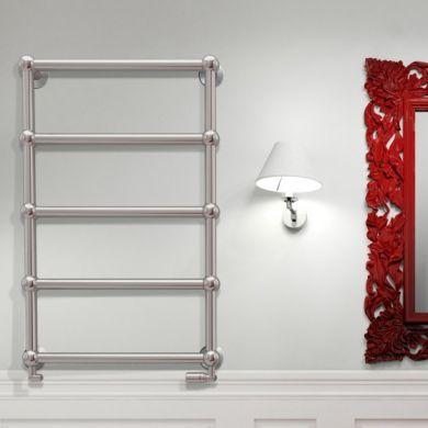 Radox Edwardian Wall Mounted Designer Mild Steel Towel Radiator 480x480mm