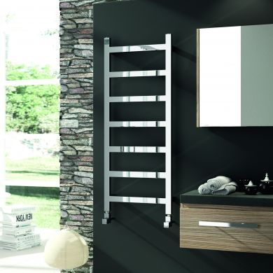 Radox Eros Horizontal Designer Mild Steel Towel Radiator 625x800mm