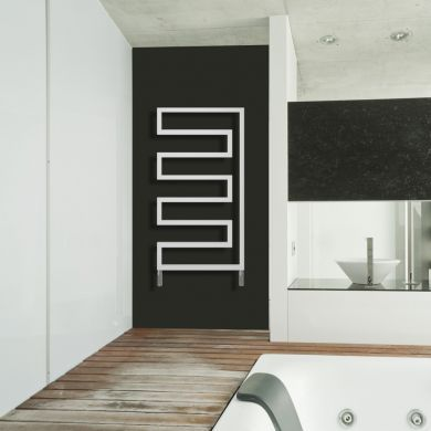 Radox Essence Designer Mild Steel Towel Radiator 1570x580mm