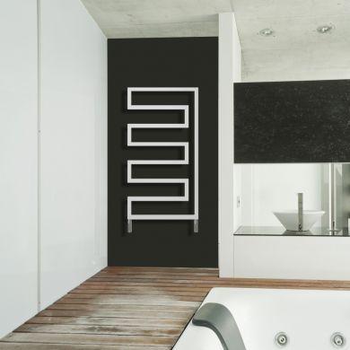 Radox Essence Designer Mild Steel Towel Radiator 730x580mm
