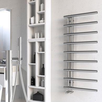 Radox Linx Designer Mild Steel Towel Radiator 750x500mm