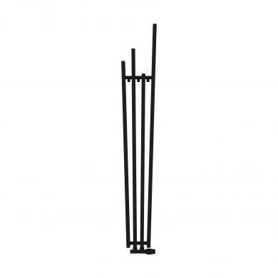 Radox Manhattan Black Pearl Designer Mild Steel Radiator 1800x285mm