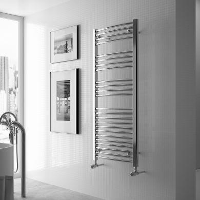 Radox Premier Curved Designer Mild Steel Towel Radiator 1500x600mm