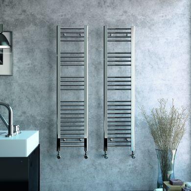 Radox Premier Flat Designer Mild Steel Towel Radiator 1200x300mm