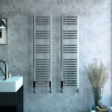 Radox Premier Flat Designer Mild Steel Towel Radiator 600x300mm