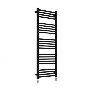 Radox Quebis Black Pearl Designer Mild Steel Towel Radiator 1550x500mm