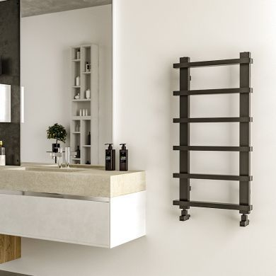 Radox Saber Designer Mild Steel Towel Radiator 1000x500mm