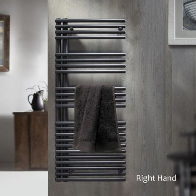 Redroom Omnia Right Hand Vertical Steel Radiator - 1161x496mm