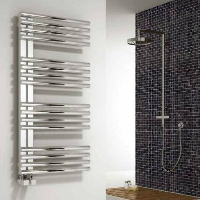 Reina Adora Stainless Steel Designer Towel Radiator 800x500mm
