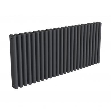 Reina Alco Anthracite Horizontal Designer Aluminium Radiator 600x1420mm