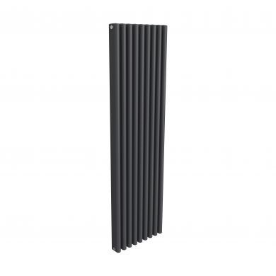 Reina Alco Anthracite Vertical Designer Aluminium Radiator 1800x520mm