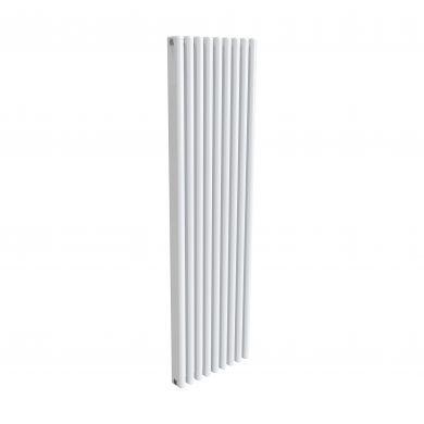 Reina Alco White Vertical Designer Aluminium Radiator 1800x520mm