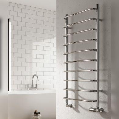 Reina Aliano Mild Steel Designer Towel Rail 1000x500mm