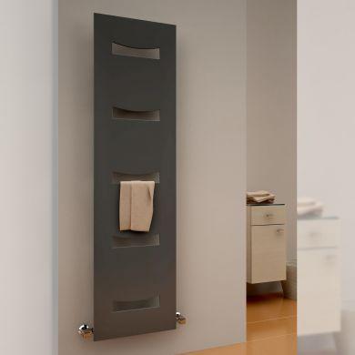 Reina Ancora Mild Steel Designer Towel Radiator 1800x490mm