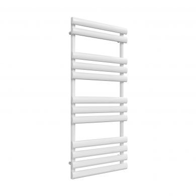 Reina Arbori White Designer Mild Steel Towel Radiator 1130x500mm