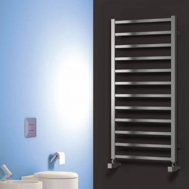 Reina Arden Stainless Steel Designer Towel Radiator 500x500mm