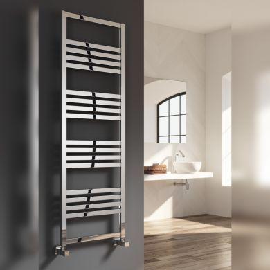 Reina Bolca Aluminium Designer Towel Rail 870x485mm