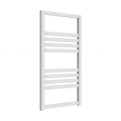 Reina Bolca White Aluminium Designer Towel Rail 1530x485mm