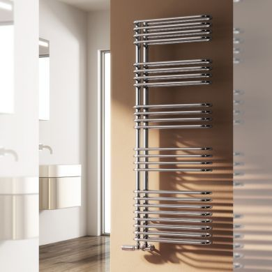 Reina Borgo Designer Mild Steel Towel Radiator 814x500mm