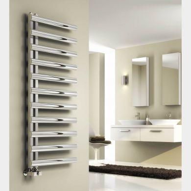 Reina Cavo Stainless Steel Designer Towel Radiator 530x500mm