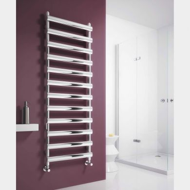 Reina Deno Stainless Steel Designer Towel Radiator 496x500mm