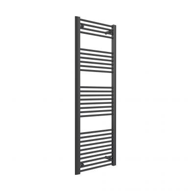Reina Divale Anthracite Aluminium Designer Towel Radiator 1480x530mm