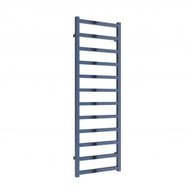 Reina Fano Satin Blue Aluminium Designer Towel Rail 1500x485mm