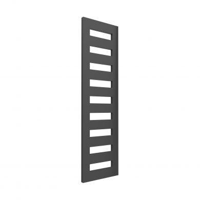 Reina Fondi Anthracite Designer Mild Steel Towel Radiator 1790x500mm