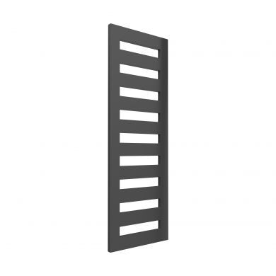 Reina Fondi Anthracite Designer Mild Steel Towel Radiator 1790x600mm