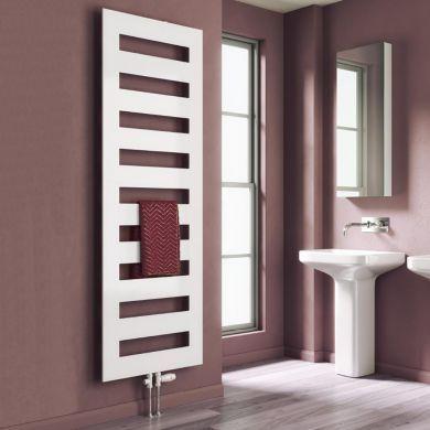 Reina Fondi Designer Mild Steel Towel Radiator 855x500mm