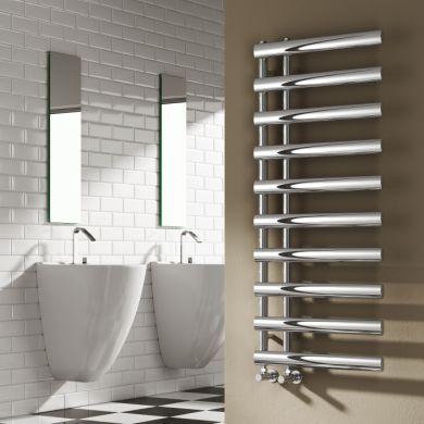 Reina Grace Designer Mild Steel Towel Radiator 780x500mm