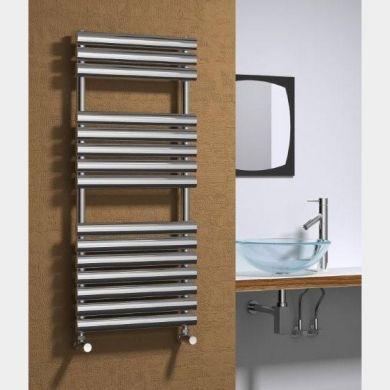 Reina Helin Stainless Steel Designer Towel Radiator 826x500mm