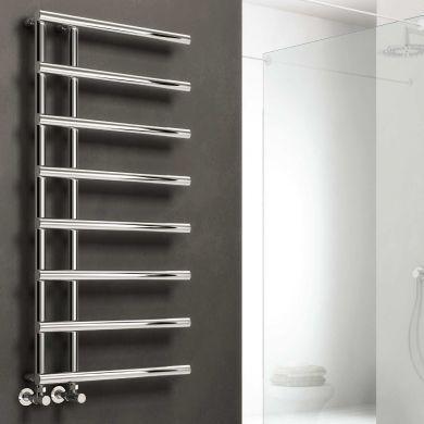 Reina Matera Designer Mild Steel Towel Radiator 722x500mm