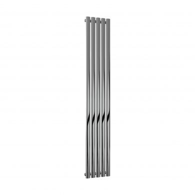 Reina Neva Chrome Vertical Designer Radiator 1800x295mm