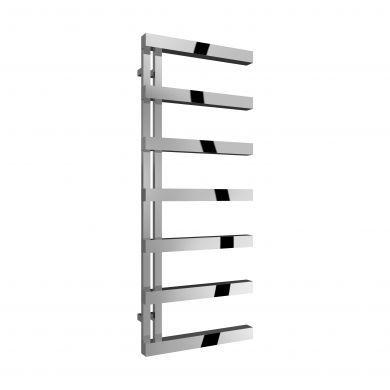Reina Piazza Polished Stainless Steel Designer Towel Radiator 1270x500mm
