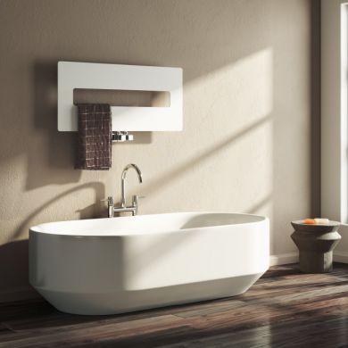 Reina Polia Designer Mild Steel Towel Radiator 400x900mm