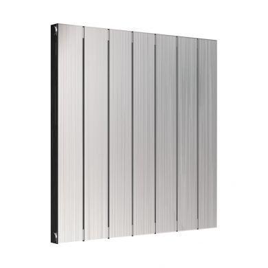 Reina Polito Horizontal Designer Aluminium Radiator 600x584mm