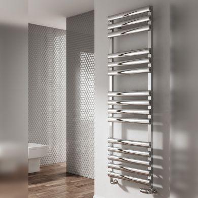 Reina Veroli Designer Aluminium Towel Radiator 750x480mm